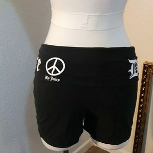 Juicy Couture Down Dog shorts sz M